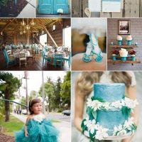 Inspiratie nunta turquoise