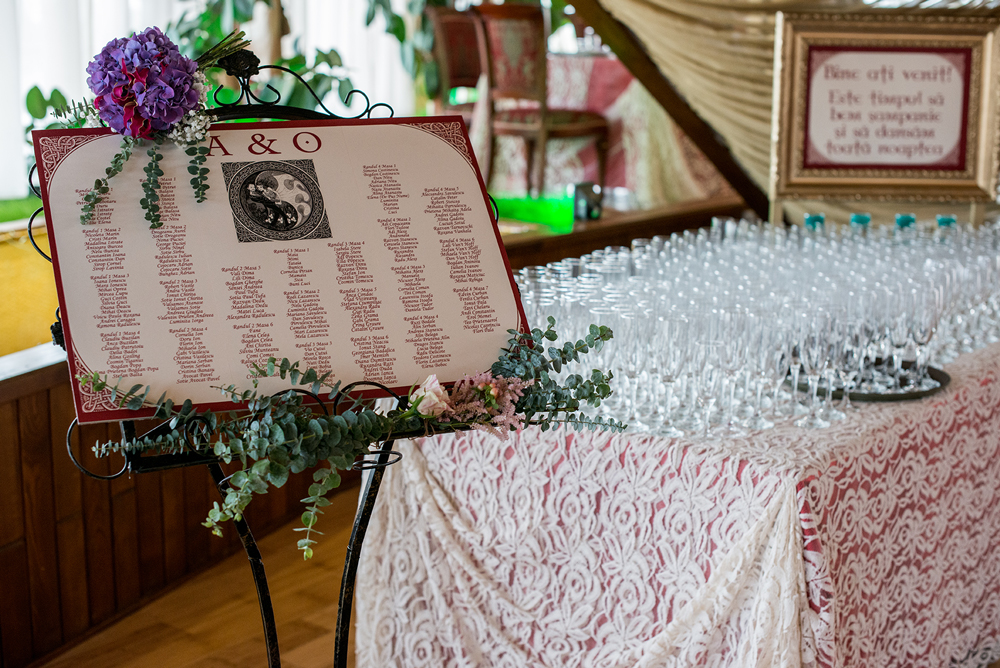 decor primire invitati