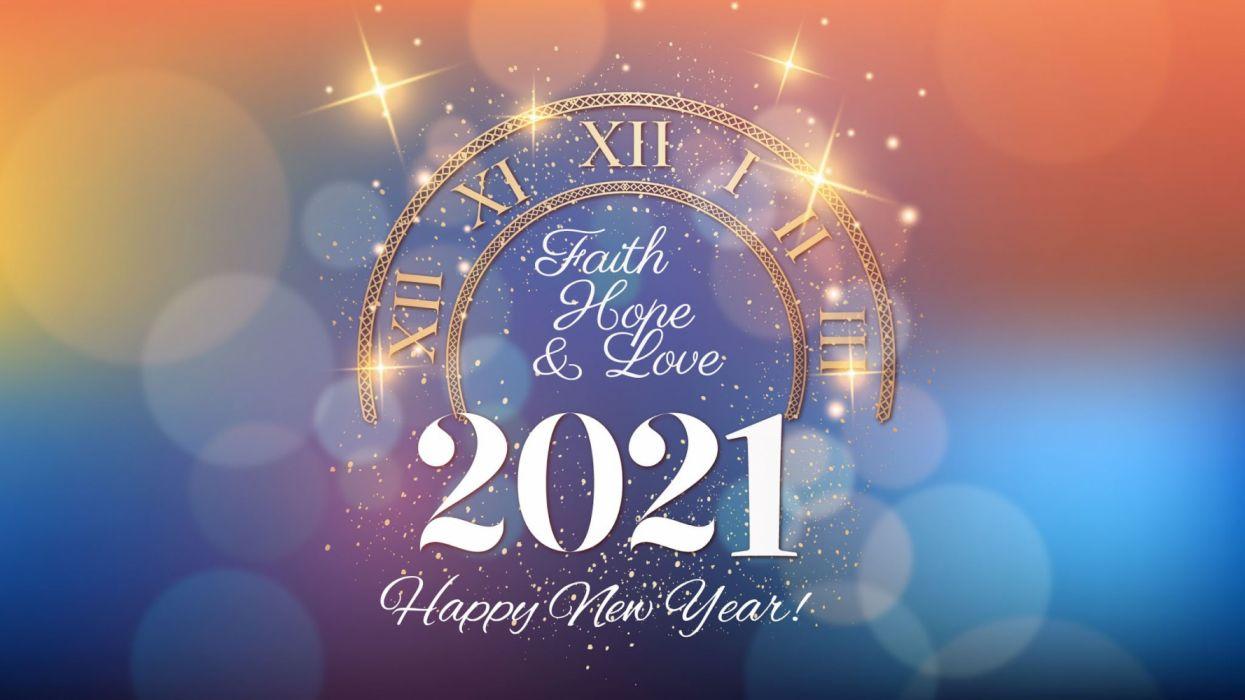 صور عن العام الجديد 2021