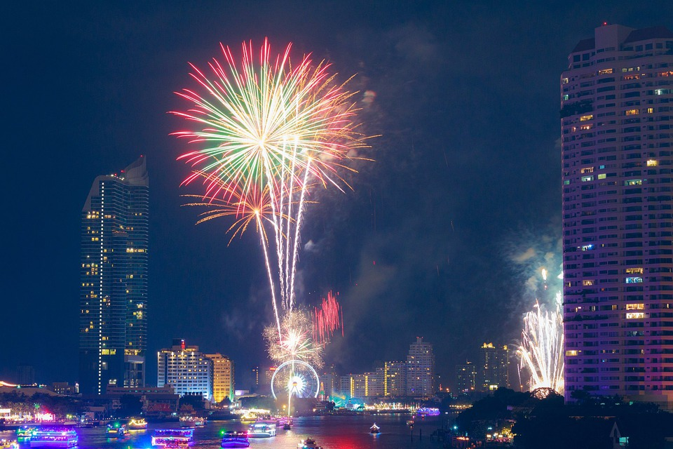 صور أحتفالات رأس السنة 2021