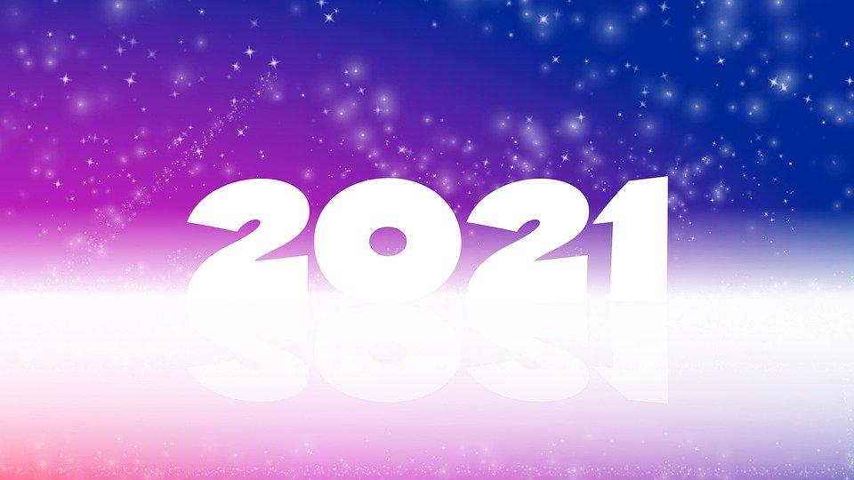 بطاقات تهنئة راس السنة الميلادية 2021