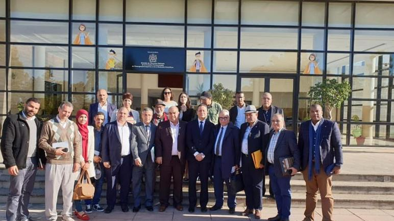 نهاية الأزمة بين وزارة أمزازي و الاساتذة الذين فرض عليهم التعاقد
