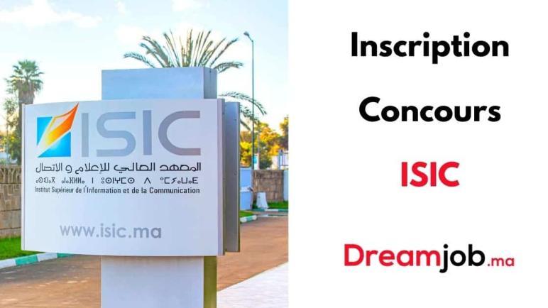 Inscription au Concours ISIC 2021/2022