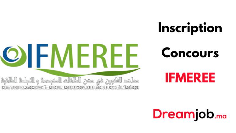 Inscription Concours IFMEREE 2021/2022