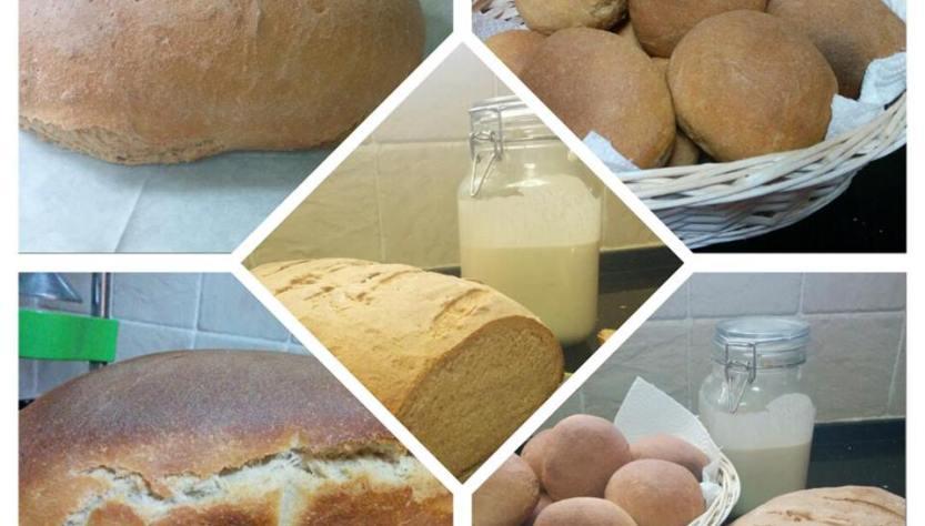 לחם בריא ממחמצת