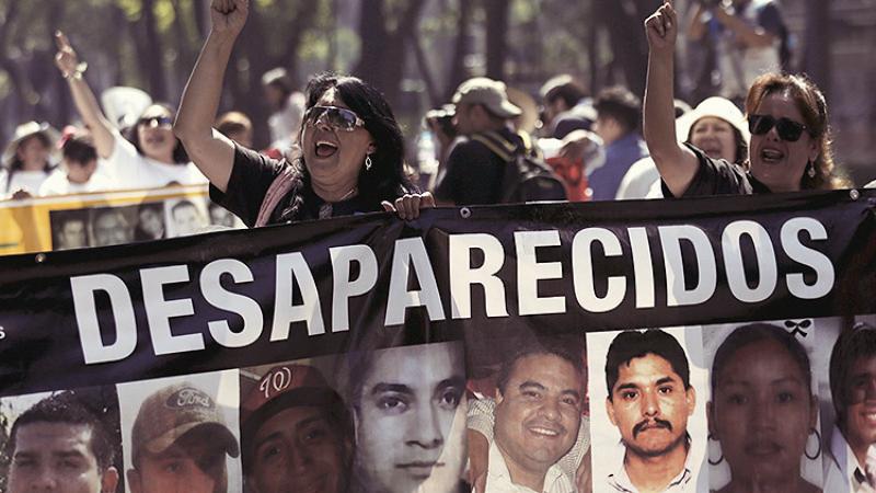 Resultado de imagen para Existen más de 30 mil desaparecidos en México