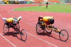 Los atletas con discapacidad participan en eliminatorias JN