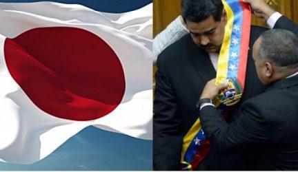 Japón lamenta que Maduro haya jurado sin aclarar la legalidad de elecciones
