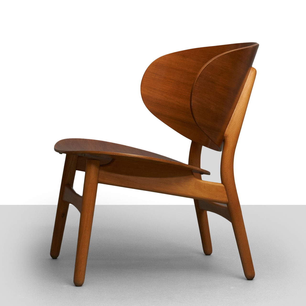 Hans Wegner Shell Chair Hans Wegner Shell Lounge Chairs Almond And Company