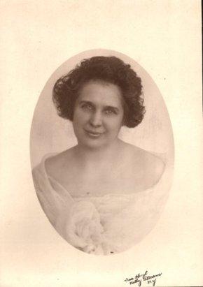 8 - Portrait of Flora McIntosh, My Grandmother