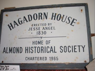 #10b Vintage Hagadorn House sign ca. 1965