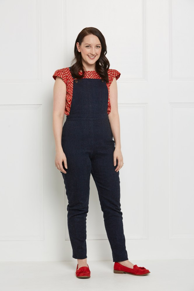 almond rock m7547 dungarees mccalls