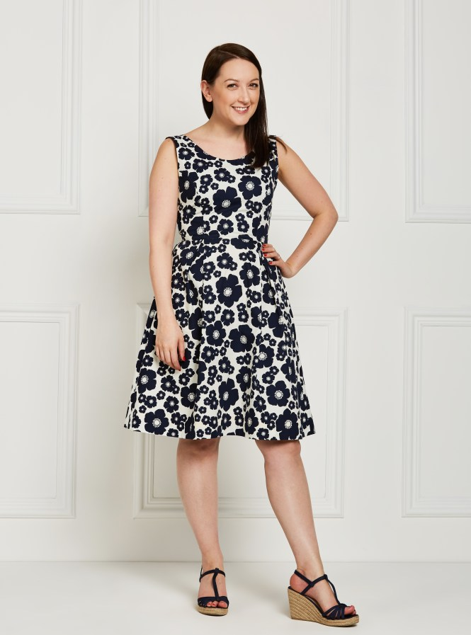 almond rock elisalex dress marimekko