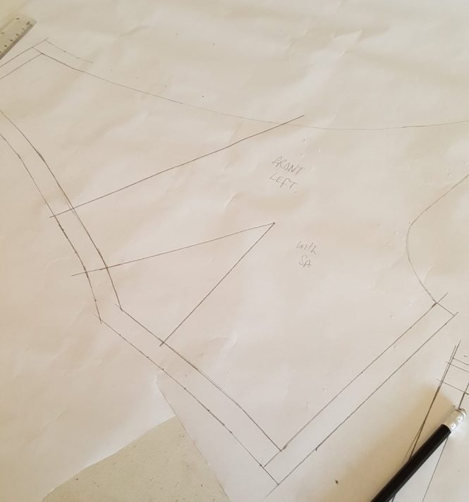 Almond rock pattern drafting Winnie aldrich