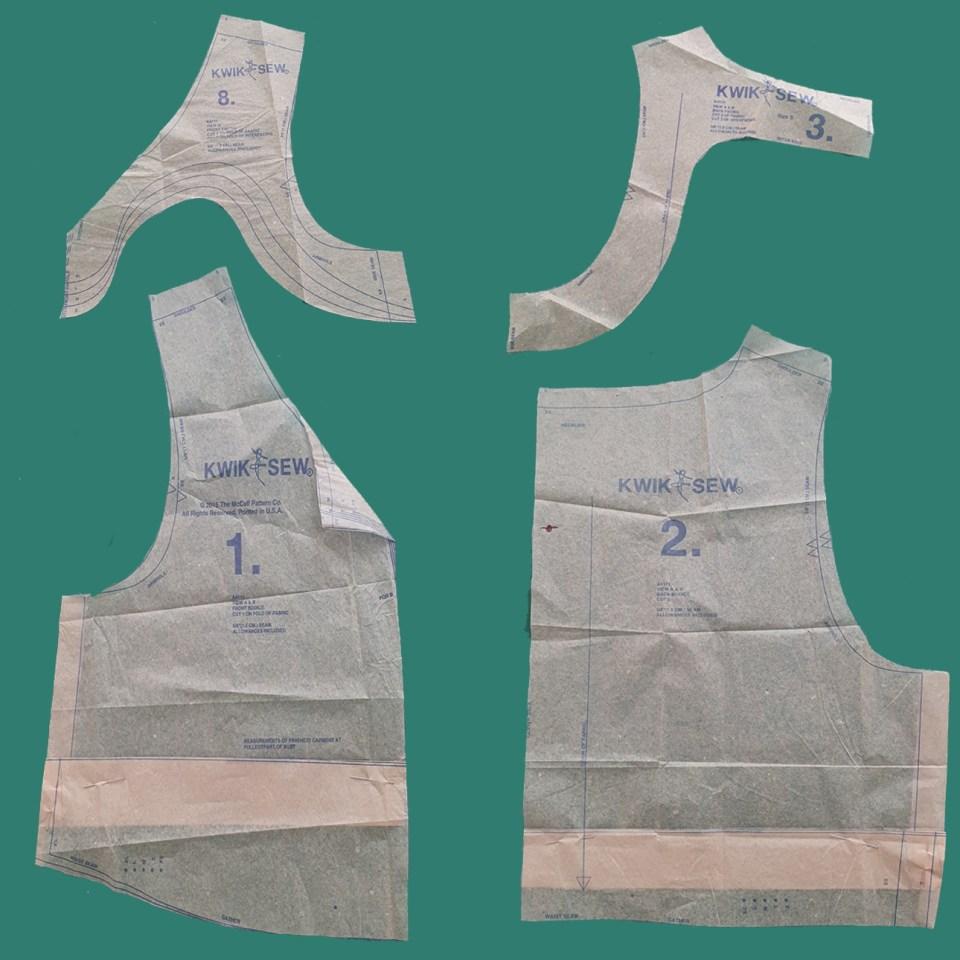 Almond rock Dashwood studio rayon Susan driscoll kwik sew 4111 mccalls 8090 dress pattern hack