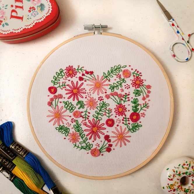 Almond rock hand embroidery hoop art oh sew bootiful