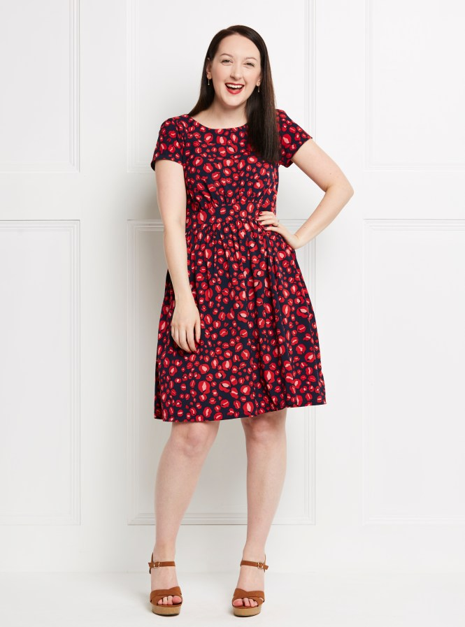 Almond rock simple sew annabelle dress fabworks
