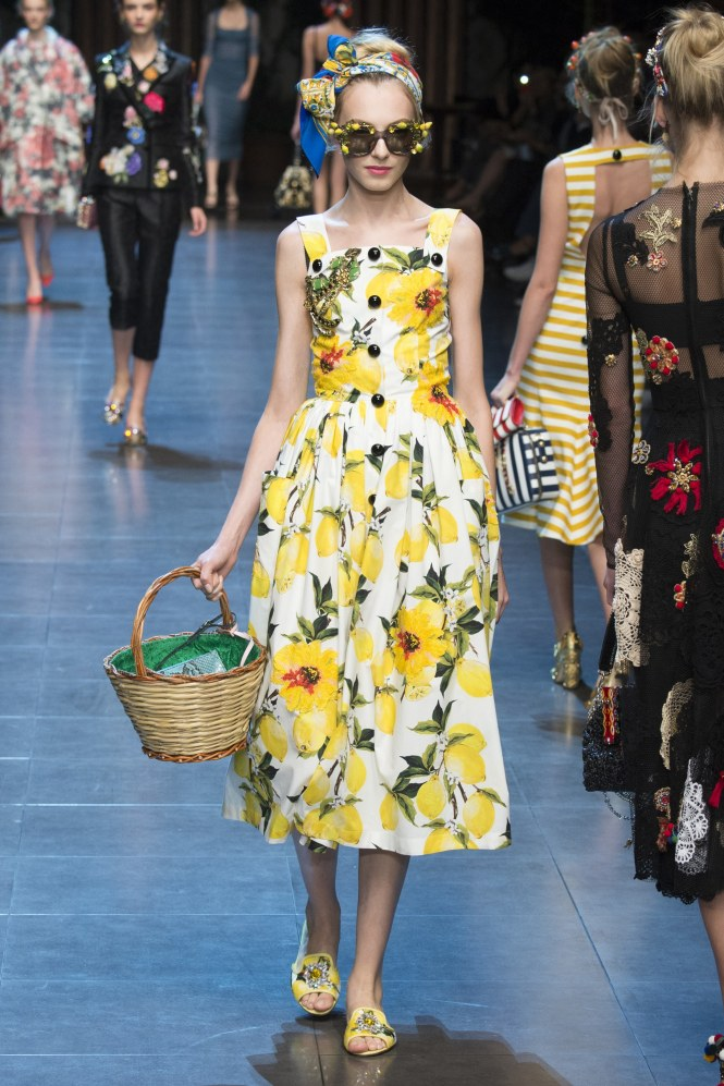 Almond rock new look 6587 Dolce and Gabbana lemon dress nl6587 #simplicitybyme