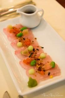 Sashimi kingfish