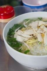 Hanoi, Vietnam - chicken, egg, rice noodles