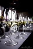 Singapore Airline - wine tasting, at Vue De Monde (divine selection of whites)