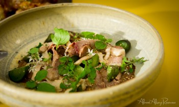 Beef shin & ox tongue