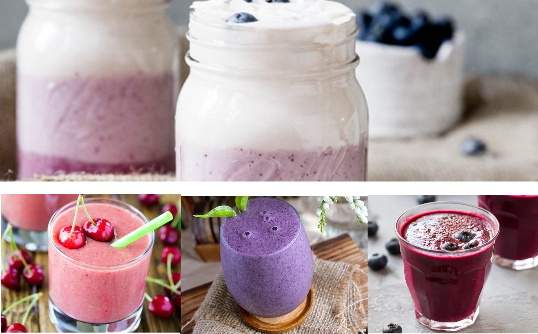 Best healthy smoothie recipes with berries , Almost a mess