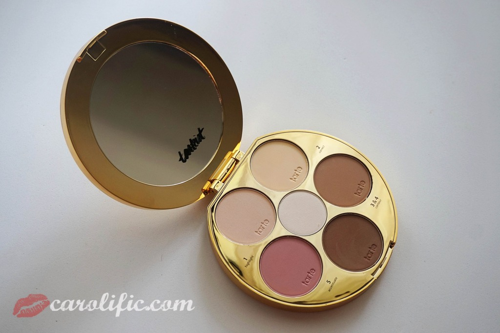 Tarte, Tarteist, Contour, Contour Powder, Highlight, Corrector, Blush, Beauty, Makeup, Review