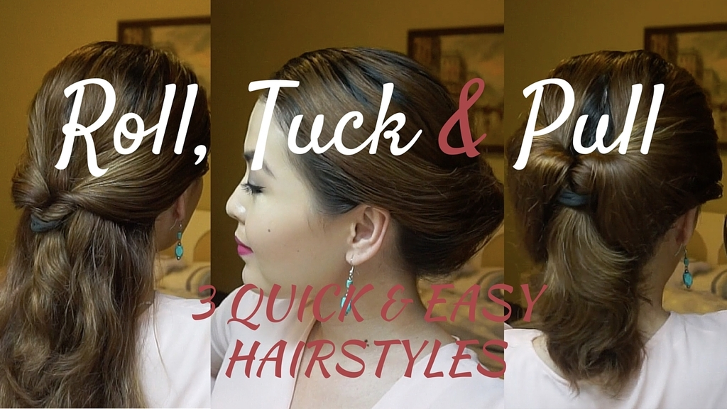 Hair 3 Quick Easy Hairstyles For Any Event Almost Diplomatic