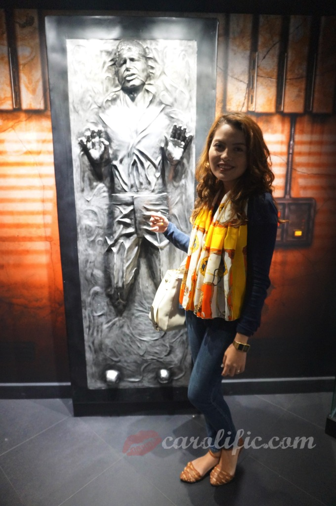 London, Travel, Europe, Britain, UK, United Kingdom, Madame Tussauds, Madame Tussauds London, Han Solo, Carbonite,