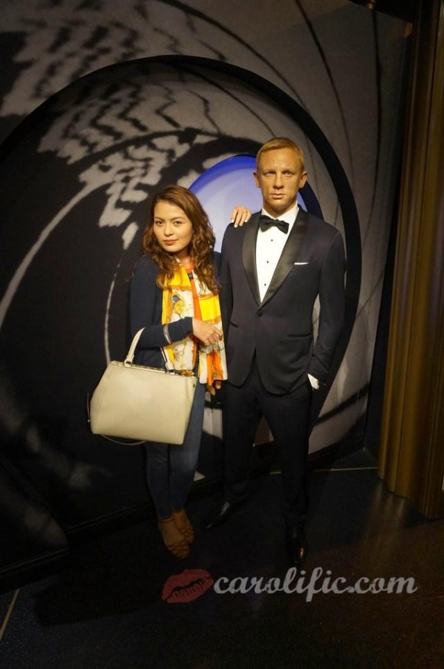 London, Travel, Europe, Britain, UK, United Kingdom, Madame Tussauds, Madame Tussauds London, Daniel Craig, James Bond