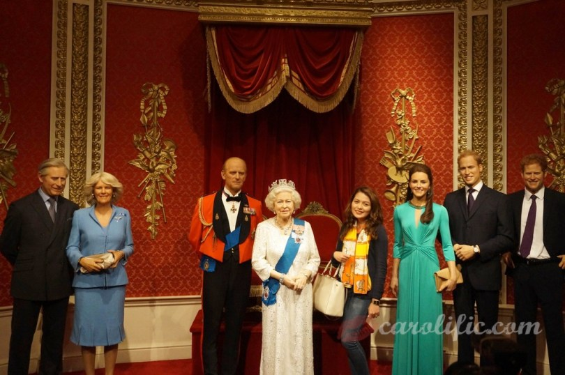 London, Travel, Europe, Britain, UK, United Kingdom, Madame Tussauds, Madame Tussauds London, Royal Family, Britain,