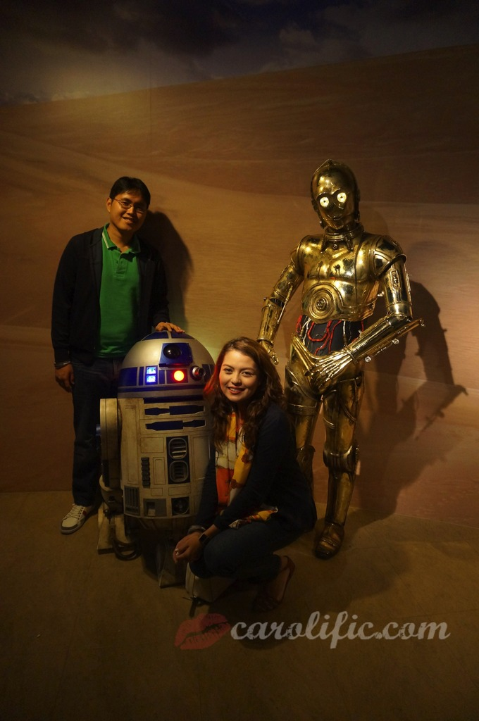 London, Travel, Europe, Britain, UK, United Kingdom, Madame Tussauds, Madame Tussauds London, R2-D2, C3-PO