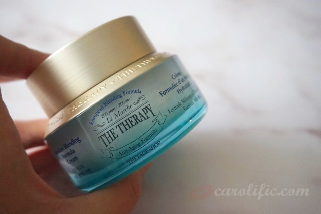 The Face Shop, The Therapy First Serum, The Therapy Moisture Cream, Moisturiser, Serum, Skin Care, Beauty, Review,