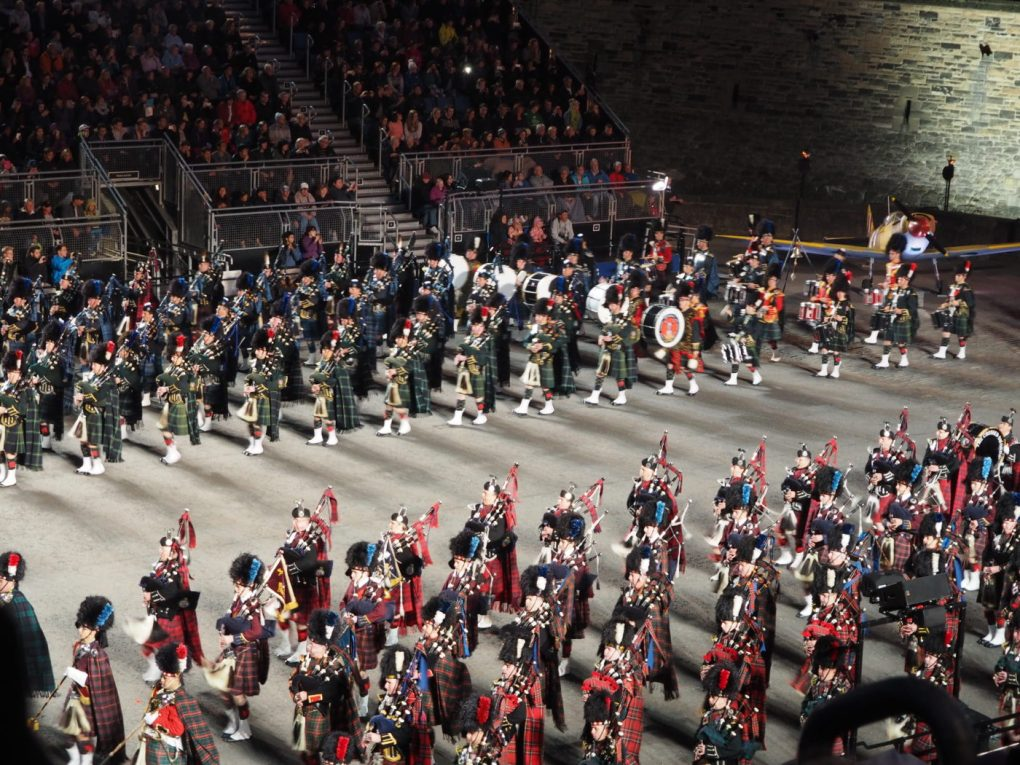 Edinburgh Military Tattoo takes place throughout the month of August, just like the Edinburgh Fringe Festival!   almostginger.com
