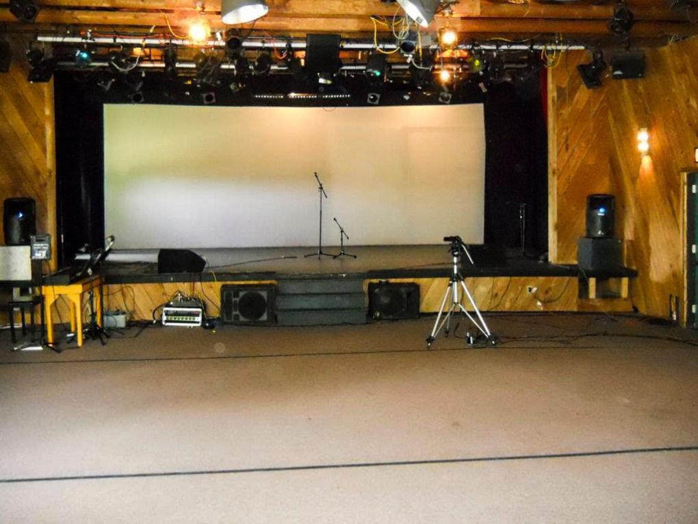 Ballibay Theatre interiors at Camp Ballibay Performing Arts Camp in Pennsylvania, USA