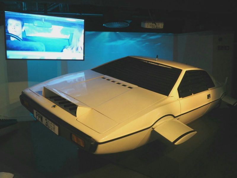 Bond in Motion Exhibition at the London Film Museum | almostginger.com