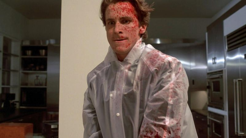 American Psycho is a Christmas movie made for the Scrooges and Grinches of the world! | almostginger.com