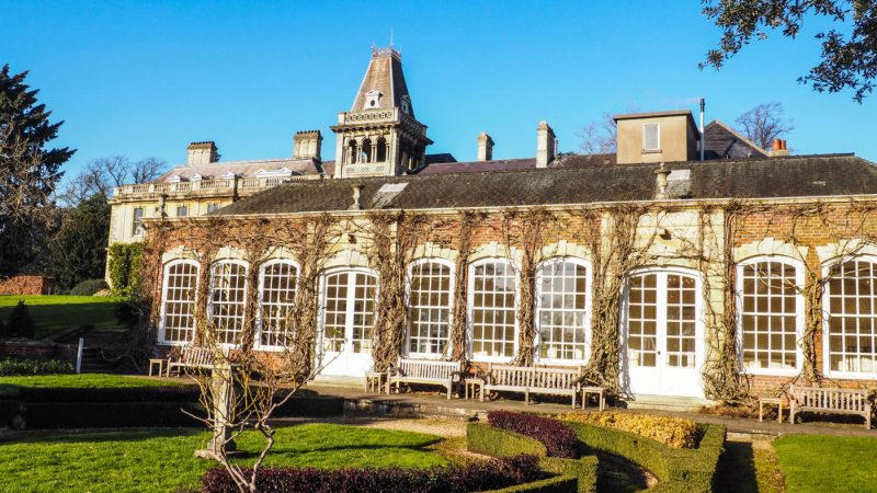 One of the main Sherlock Film Locations in Bristol is the Orangery at Goldney Halls | almostginger.com