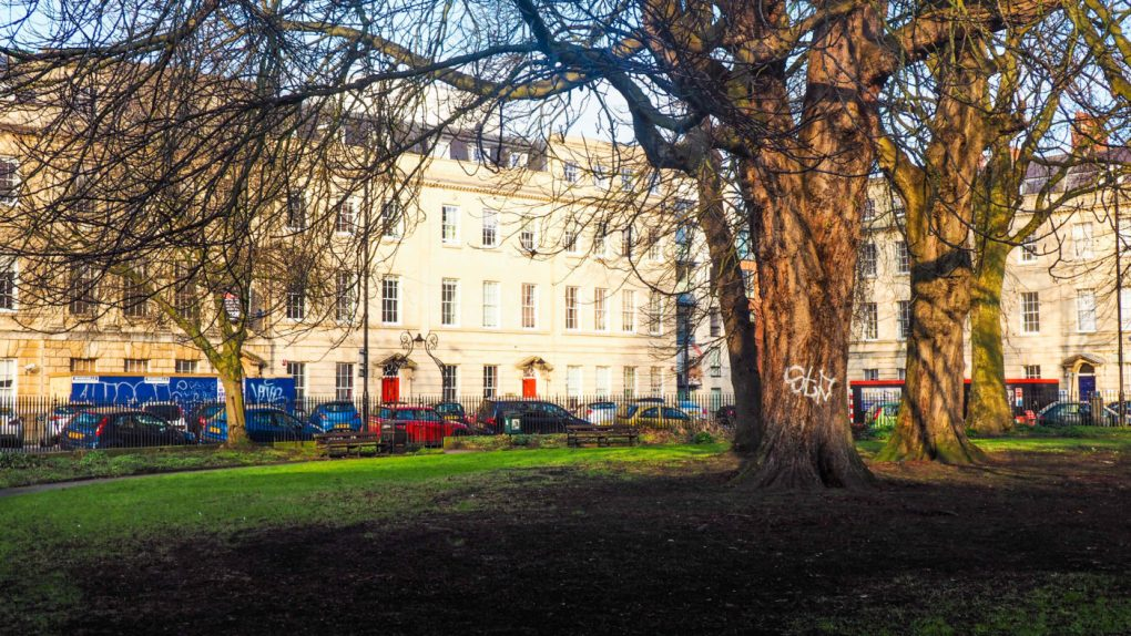 One of the main Sherlock Film Locations in Bristol is Portland Square | almostginger.com