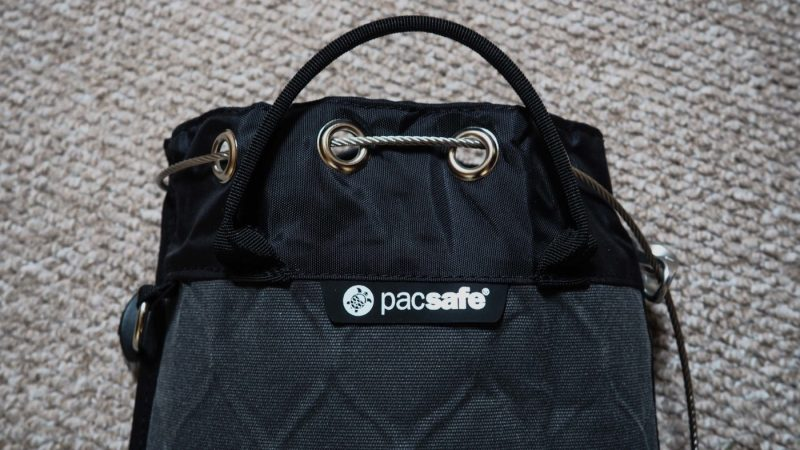 Review: PacSafe 5l Portable Travel Safe | almostginger.com