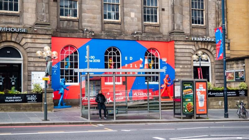 Filmhouse Cinema during the Edinburgh International Film Festival in Edinburgh, Scotland in the UK