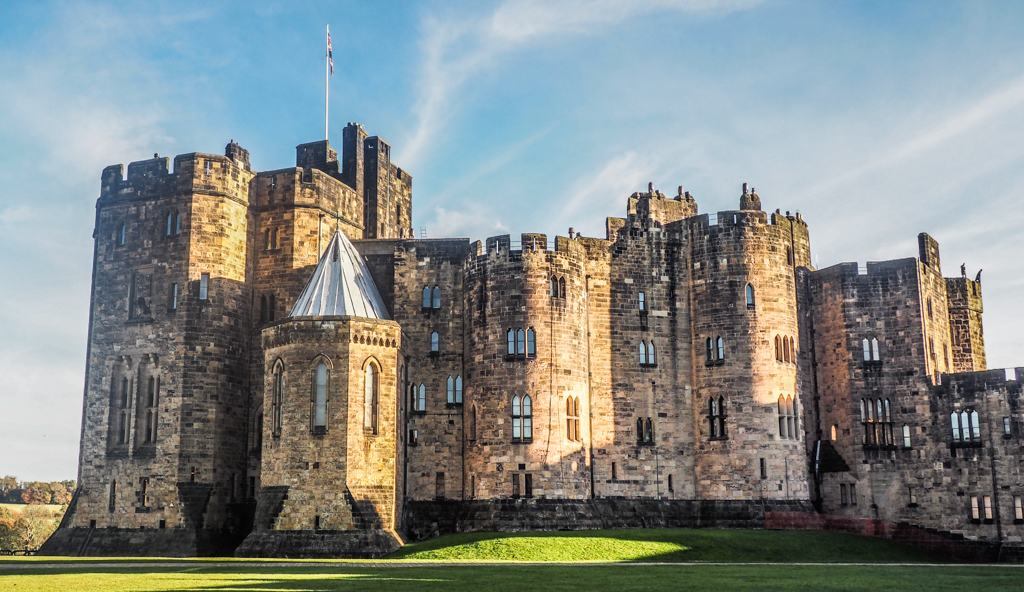 Harry Potter Film Locations at Alnwick Castle, Northumberland