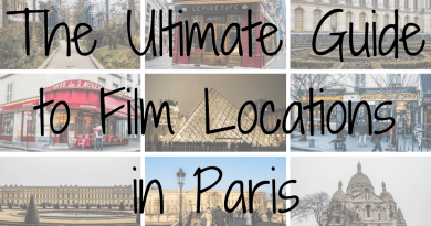 The Ultimate Guide to Paris Filming Locations including all film locations in Amelie, Hugo, Before Sunset, The Da Vinci Code, Marie Antoinette and Midnight in Paris | Paris on screen | almostginger.com
