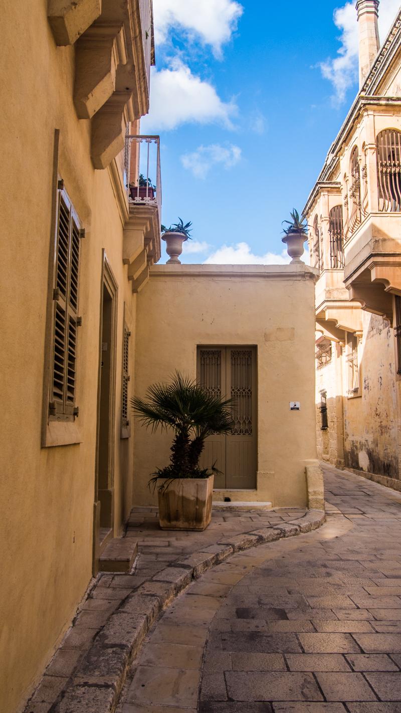 Streets in Mdina, Malta