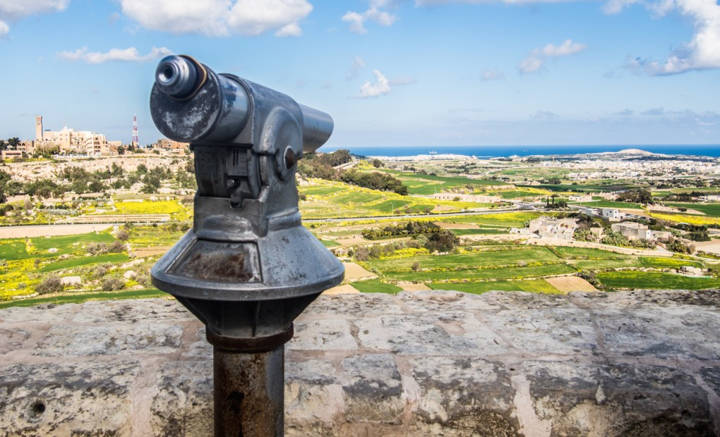 Panoramic Viewpoint in Mdina, one of the best things to do in Mdina, Malta