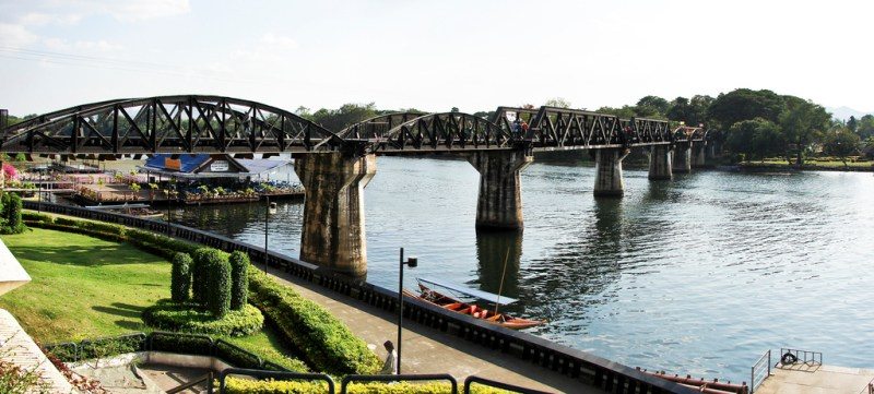 Hollywood Film Locations in Thailand: The Impossible, Rambo & More! including The Bridge on the River Kwai | almostginger.com
