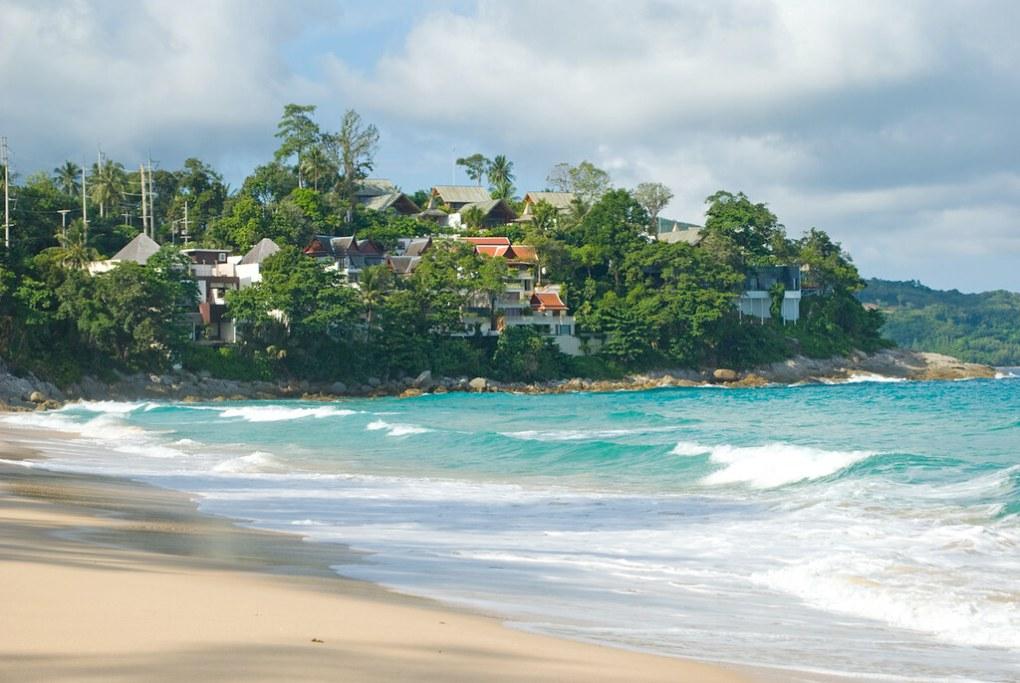 Surin Beach in Phuket, Thailand