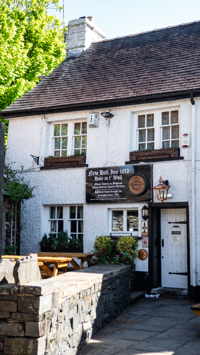 Hole in t' Wall pub in Bowness-On-Windermere in the Lake District, UK