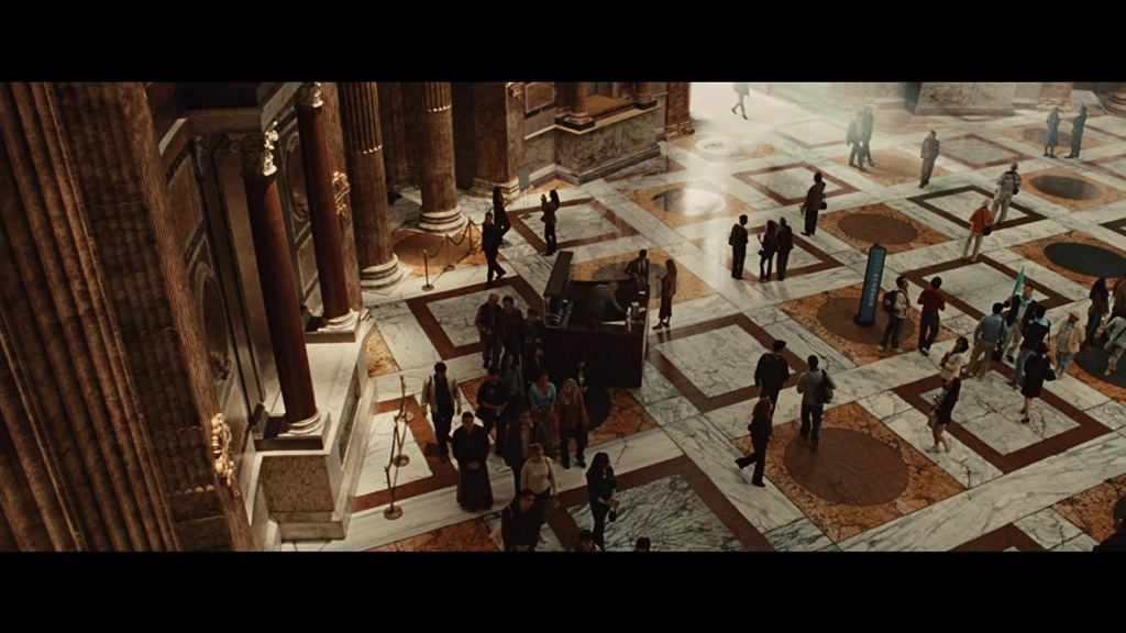 The Pantheon as seen in Angels and Demons (2009)